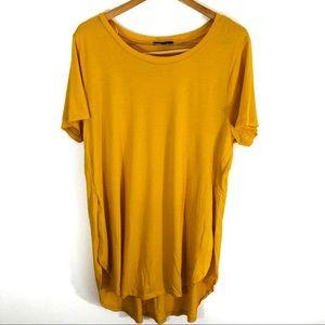 Ambiance | Mustard Short Sleeve Blouse (P13)